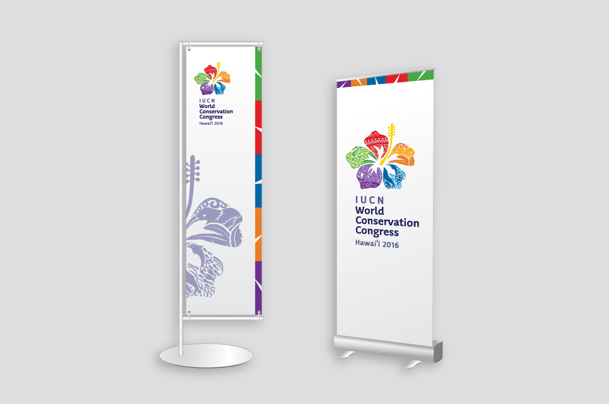 Branding and identity for IUCN - Banner