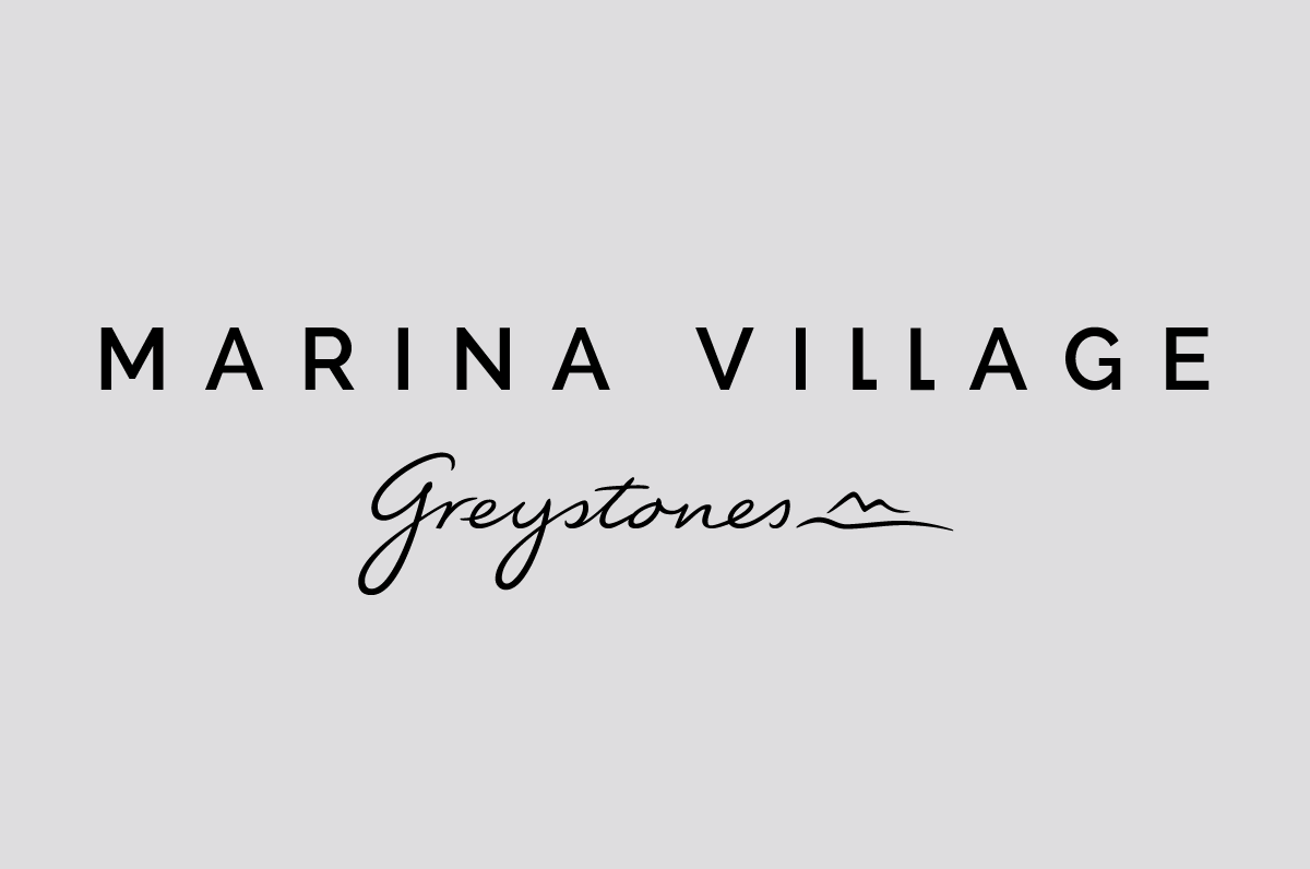 Marina Village logo design