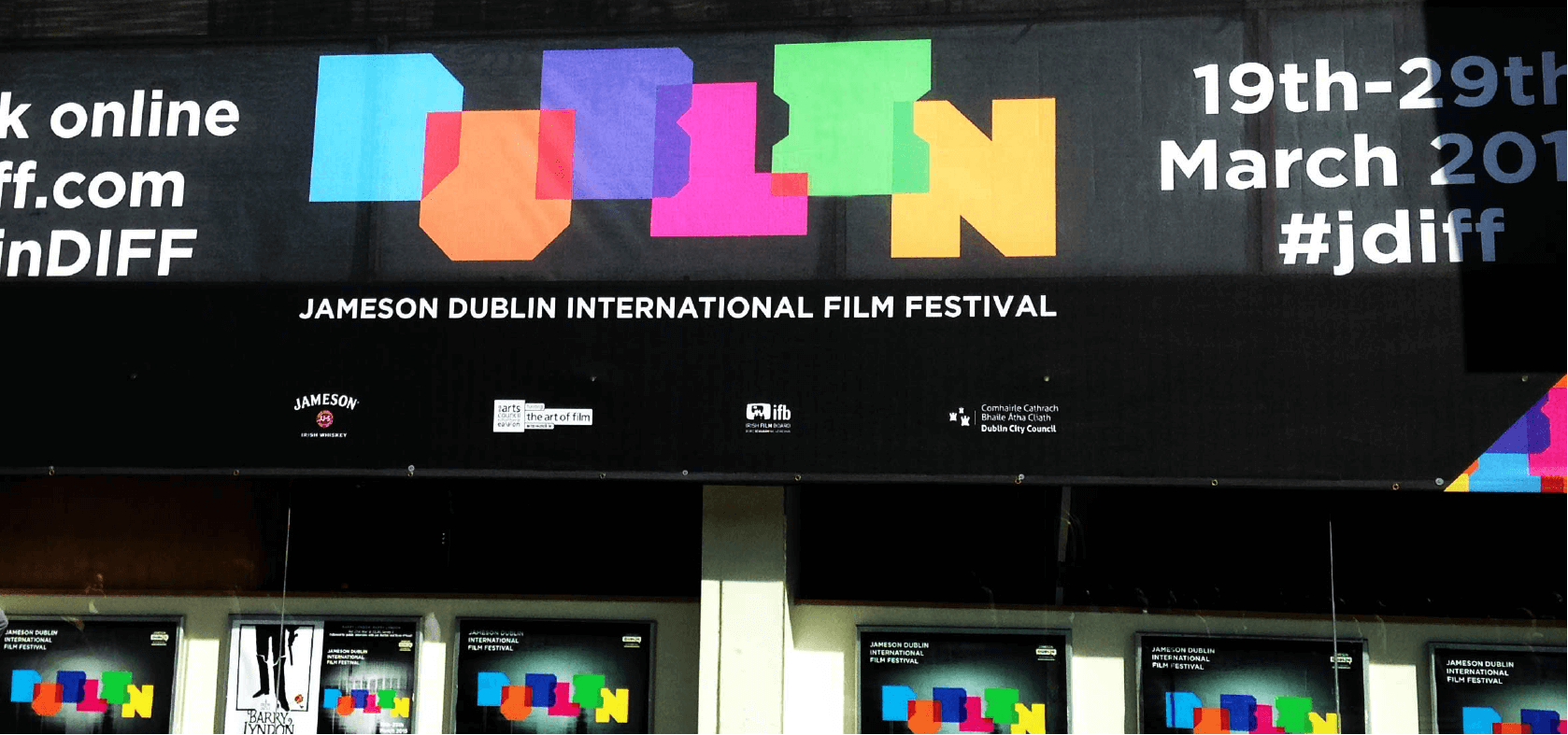 Branding and Identity created for the DUblin Film Festival