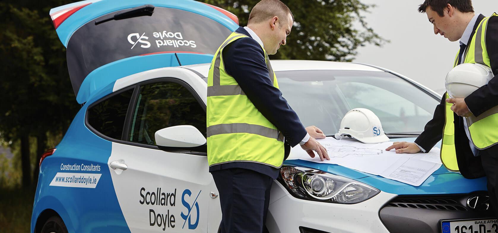 Corporate branding for scollard doyle using a creative branding solution
